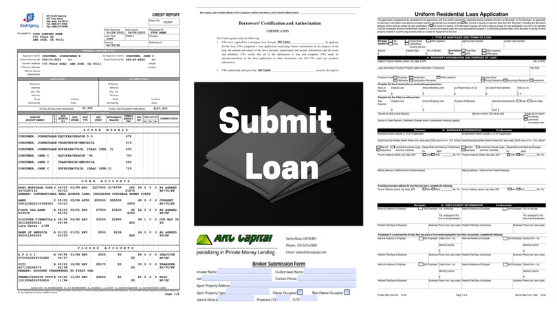 Submit A Loan To ARC Private Lending